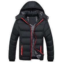 Big Size 5XL Winter Jacket Men Warm Down Jacket Casual Parka Men padded Winter Jacket Casual Handsome Winter Coat Hooded Parkas