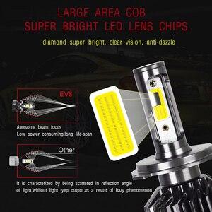 Image 2 - 2PCS LED H4 H7 LED Headlight Larger COB 10000LM LED Car Lights 50W H1 LED Fog lights 12v 24v H11 HB3 HB4 Auto Lamp Car Styling