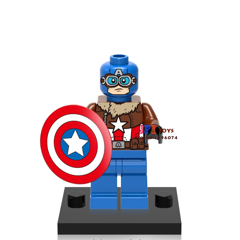 Single Sale star wars superhero marvel XH539 Captain American building blocks model Gift bricks toys brinquedos