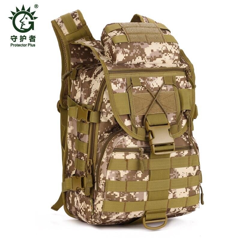 40L grande capacité voyage Camouflage sac à dos tactique militaire en plein air Camping randonnée en Nylon sac sport épaule sacs à dos - 4
