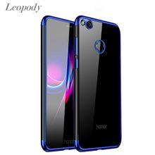 For Huawei P9 Lite P8 Lite 2017 Plating Soft Case Honor 8 Li