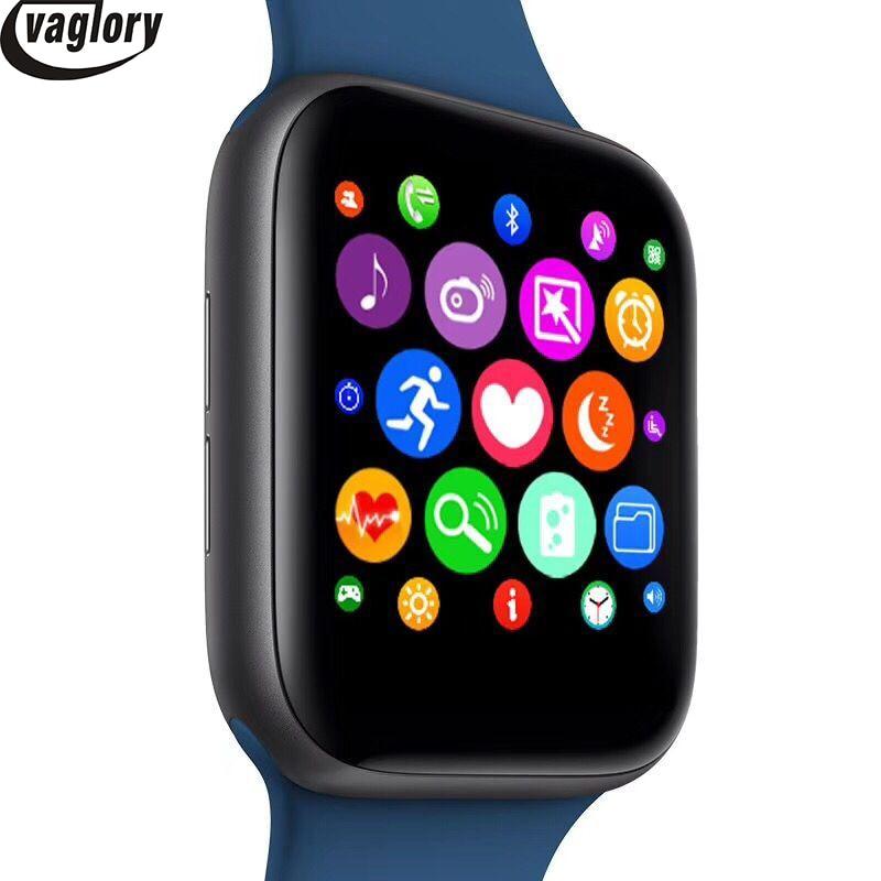 Bluetooth IWO 8 montre intelligente série 4 44mm boîtier 1:1 Smartwatch moniteur de fréquence cardiaque Wisrtwatch pour Huawei Xiaomi Oppo iPhone - 2
