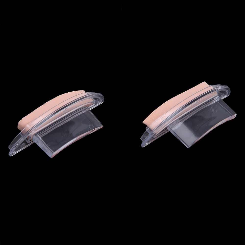 """חדש 2018 5.2 ס""""מ גבות תבנית חותמת ספוג שבלונות עין עצלן מהיר איפור כלי חותם קרם 3 סוג"""
