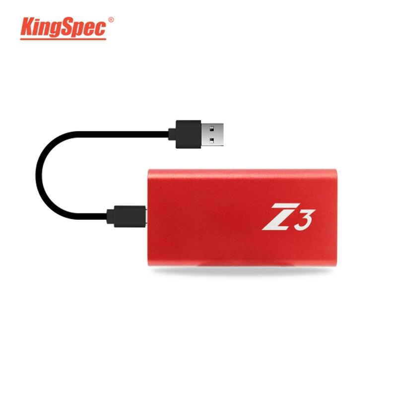 KingSpec SSD Hdd Hard Drive Portátil 1 TB SSD Disco de Estado Sólido Externo USB 3.1 Tipo c-Usb 3.0 hd externo 1 T para o Desktop
