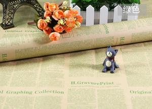 Image 2 - Selens 52*75 センチメートルヴィンテージ英語新聞牛革包装紙背景紙壁紙パッケージ紙包装紙