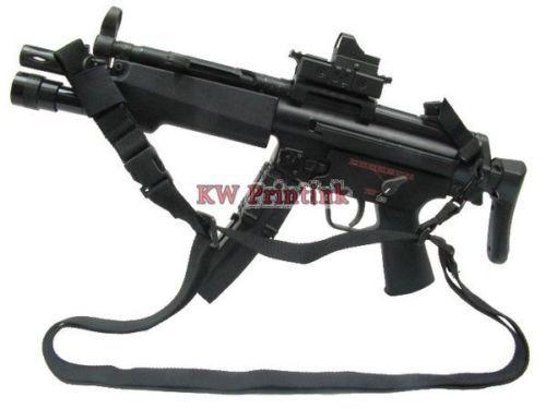 3-point Tactical Rifle Gun Sling Strap Games Lanyard Hook Outdoor Hunting