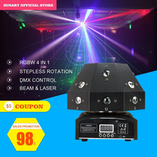 Free shipping 16*3W mushroom LED RGBW stage effect laser projector for dj disco dmx moving head beam lighting spot wash lighting free shipping 4 heads 60w led mini beam moving head light professional stage dj lighting dmx controller disco projector lasers