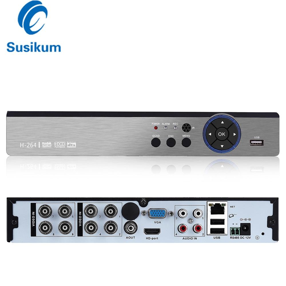 8CH 4MP AHD DVR /Hybrid 4*AHD 4MP+4*IP 4MP/ Network:8*1080P+8*960P;8*4MP CCTV Video Recorder AHD/TVI/CVI/CVBS/IP 5 In 1 DVR
