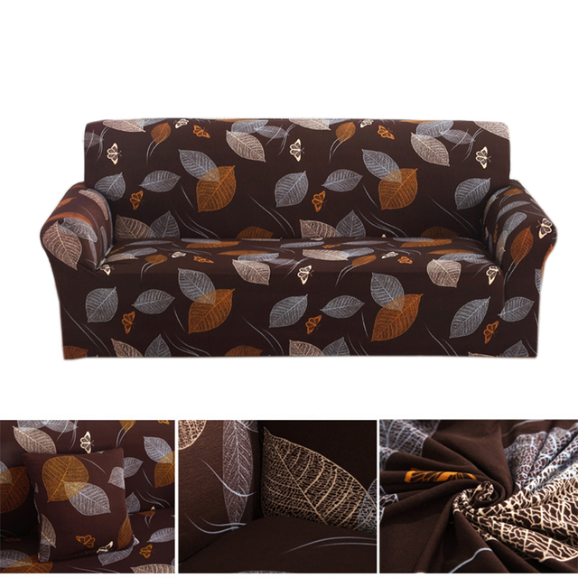Printed Sofa Cover Loveseat Furniture Covers Big Couch Cover Spandex ...