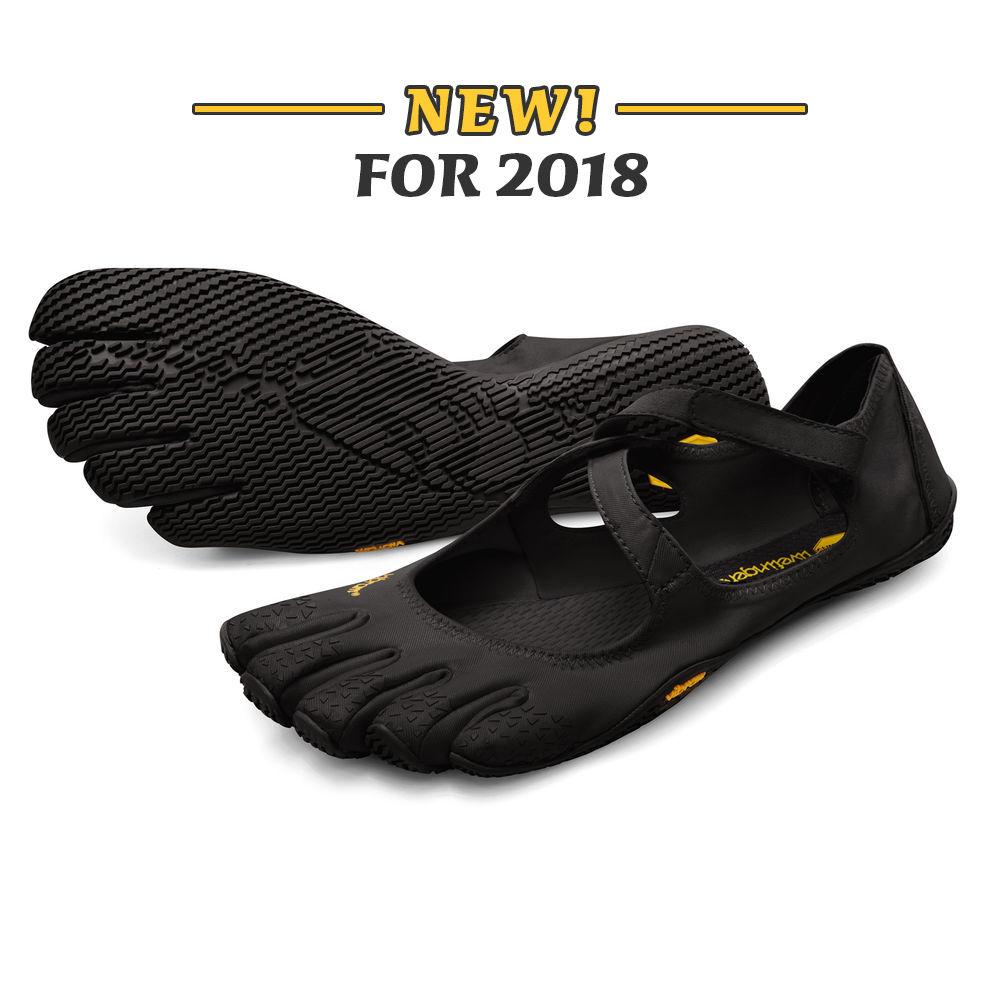 Vibram fivefingers Yoga Dance Pilates cinco dedos antideslizantes transpirables peso ligero desnudo negro zapato para mujer v soul 2018 - 4
