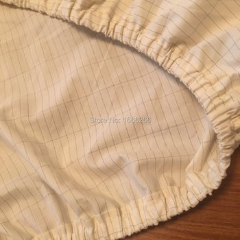 Conductive Earth Connection Silver Fiber Bed Sheet Fitted For Physical Cure Of Sleep