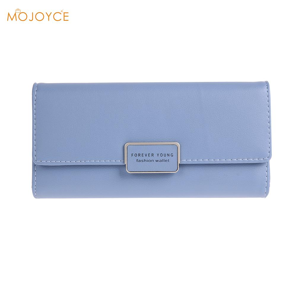 Womens purse PU+RFID Antimagnetic Anti-theft Long Wallet Card Coin Holder female Purse Business Card Holder Natural Wallets