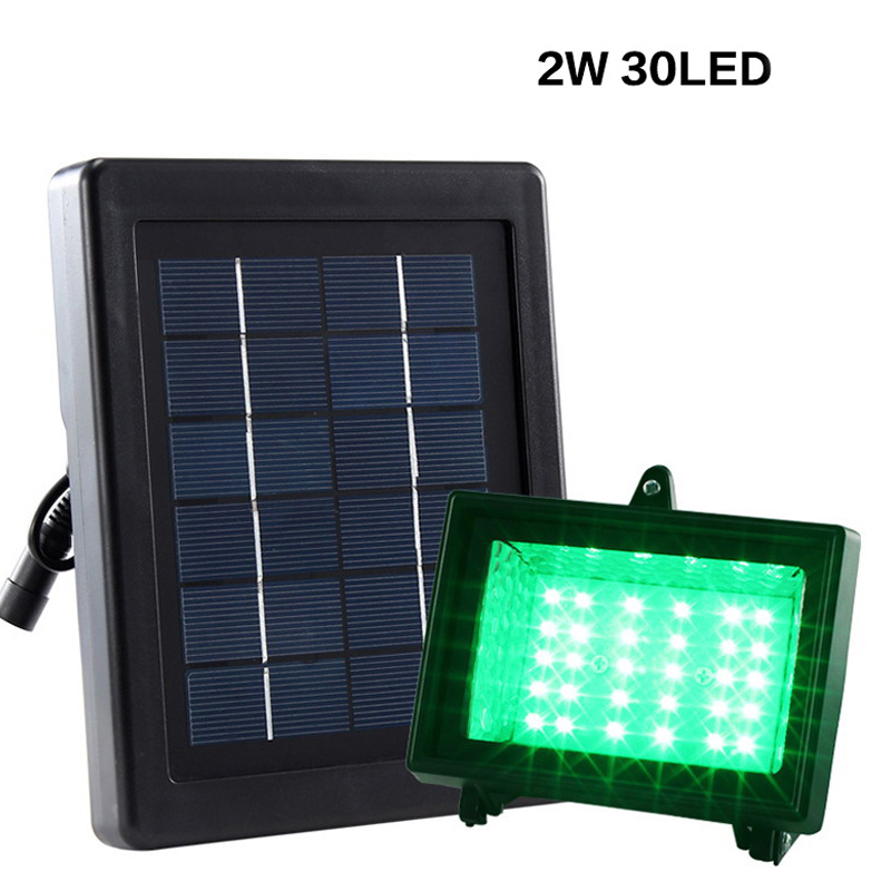 LumiParty 30LED Waterproof Solar Lamp Outdoor Solar-Powered Light Sensor LED Street Lamp Landscape Lamp Lawn Yard Garden Light 12pcs solar light led solar lawn lamp for garden decoration outdoor waterproof led lawn lights street landscape yard lamp