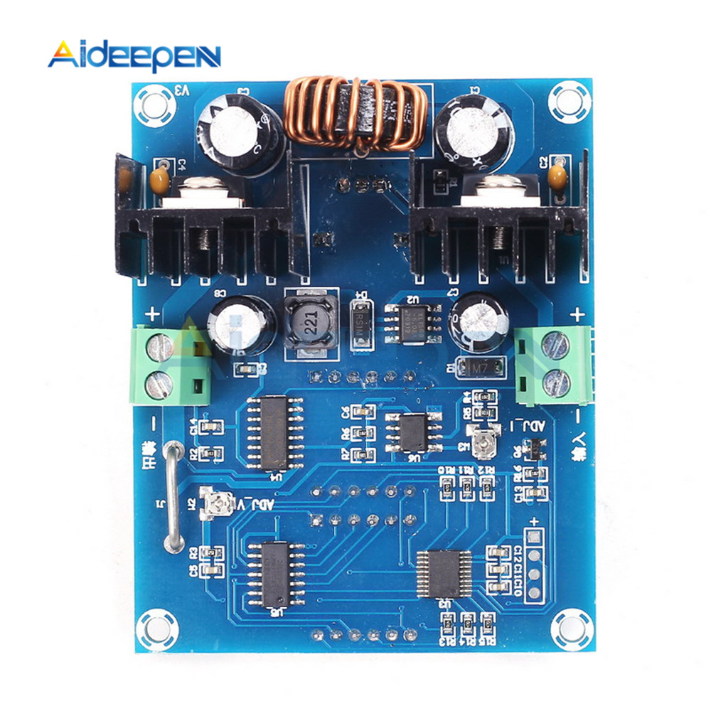 DC-DC Step Down Buck Converter Power Supply Module XL4016 PWM Adjustable 4-40V To 1.25-36V Step Down Board Module Max 8A 200W 8