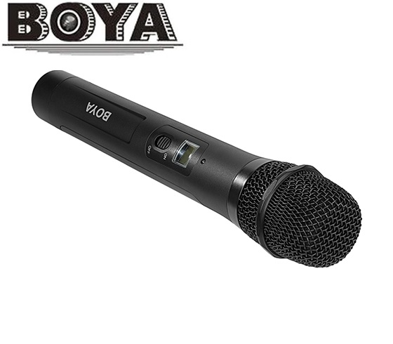 BOYA BY WHM8 Microphone UHF transmission with 48UHF channels Work with BY WM8 BY WM6 Receiver
