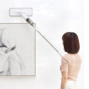Image 4 - Оригинальный Xiaomi Deerma водораспылитель Mijia очиститель для пола из углеродного волокна пылеуловитель 360 Вращающийся стержень 350 мл Вощеная Швабра Smart