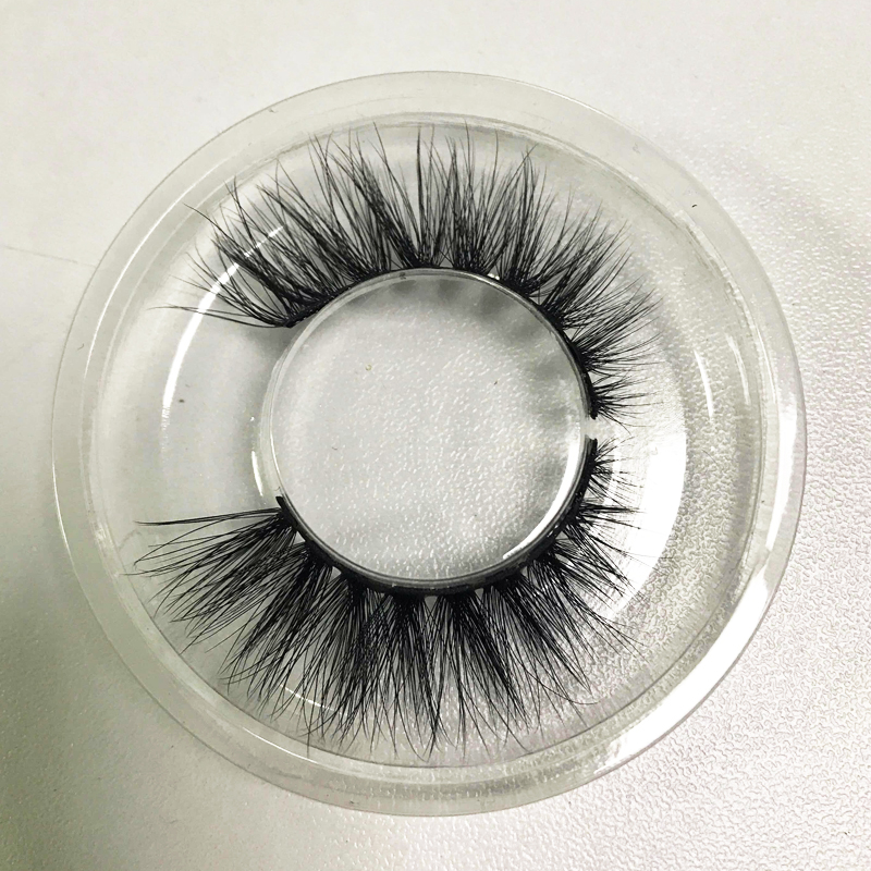 100 pairs mink false eyelashes with tray no box wholesale private packaging optional style 3D mink