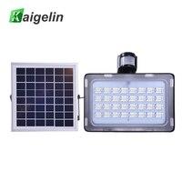 Modern 10W 20W 30W 50W Solar Power PIR Motion Sensor Induction Sense LED Flood Light Solar