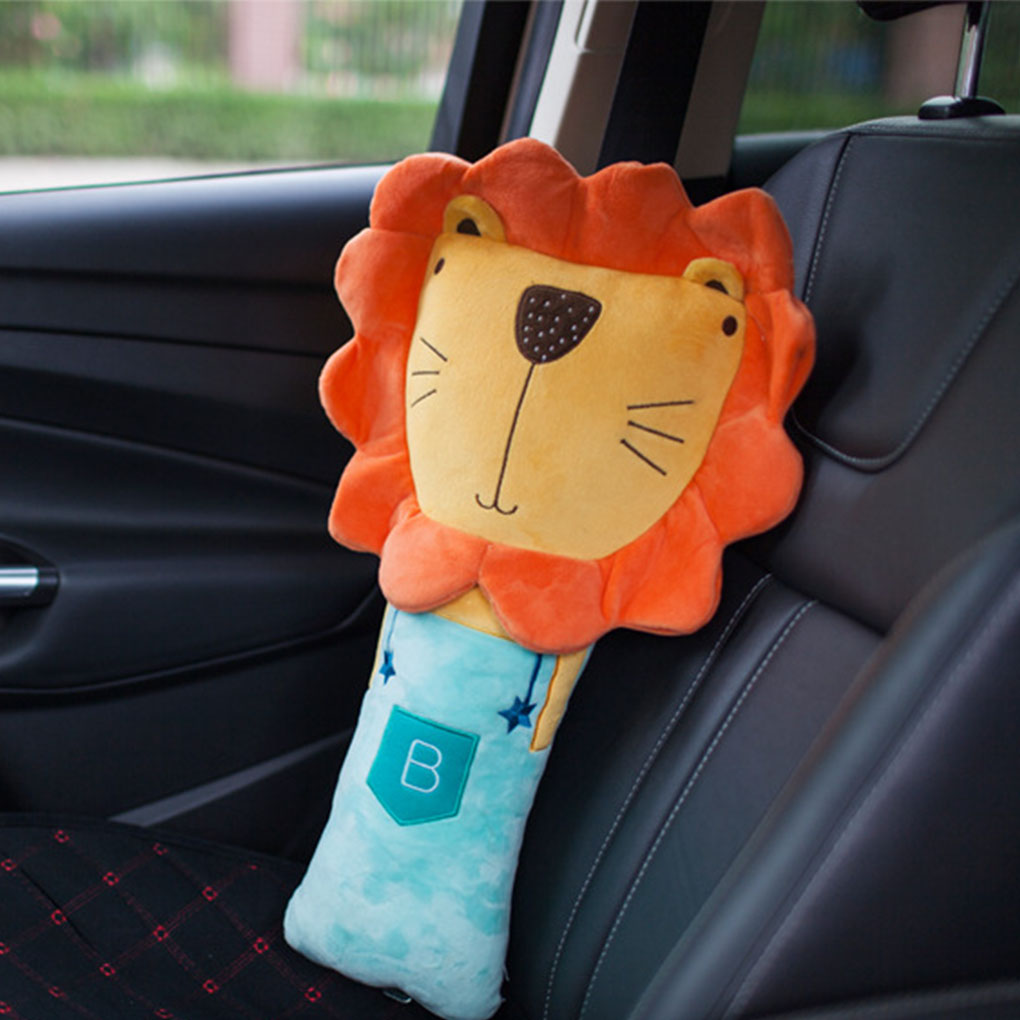 Cartoon Automobile Safety Belt Shoulder Sleeve Cover Children Belt Shoulder Protection Pillow Car Decoration