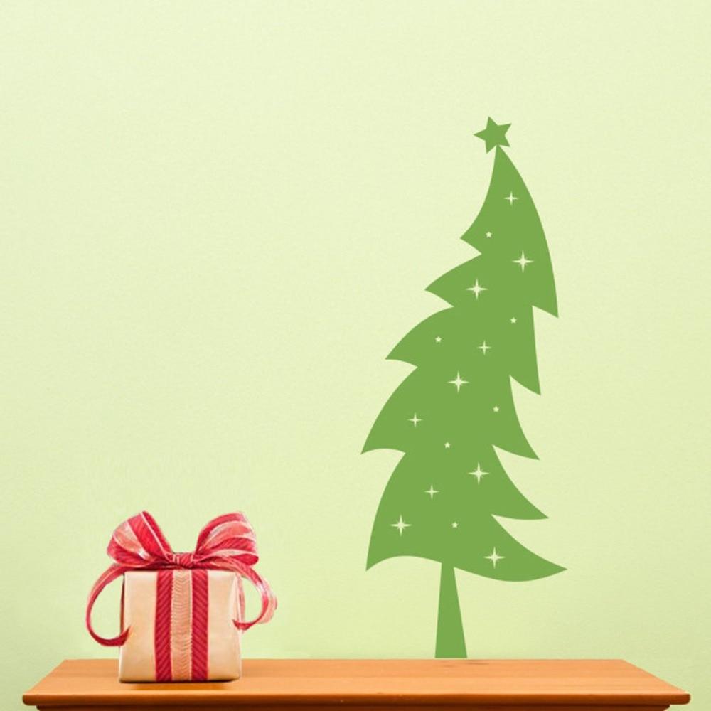 Christmas Tree Childrens Wall Art Nursery Decor Wall Stickers ...