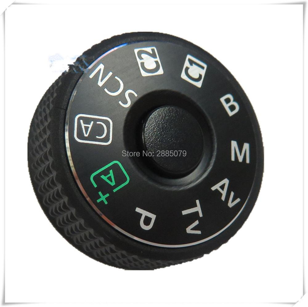 NEW Camera Repair Parts For Canon EOS 6D Top Cover Mode Dial With Interface Cap