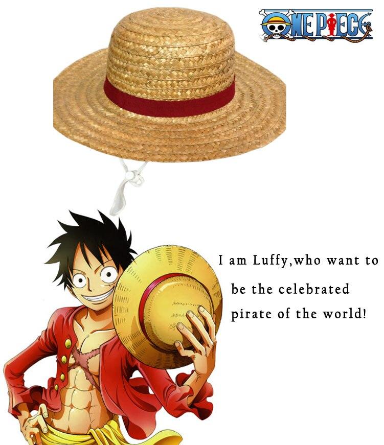 Spedizione Gratuita One Piece Monkey. D. Luffy Due anni fa quest ultimo  Accessori Per cappelli di Paglia Cappello di Cosplay Del Anime in Spedizione  ... 3d810236b318