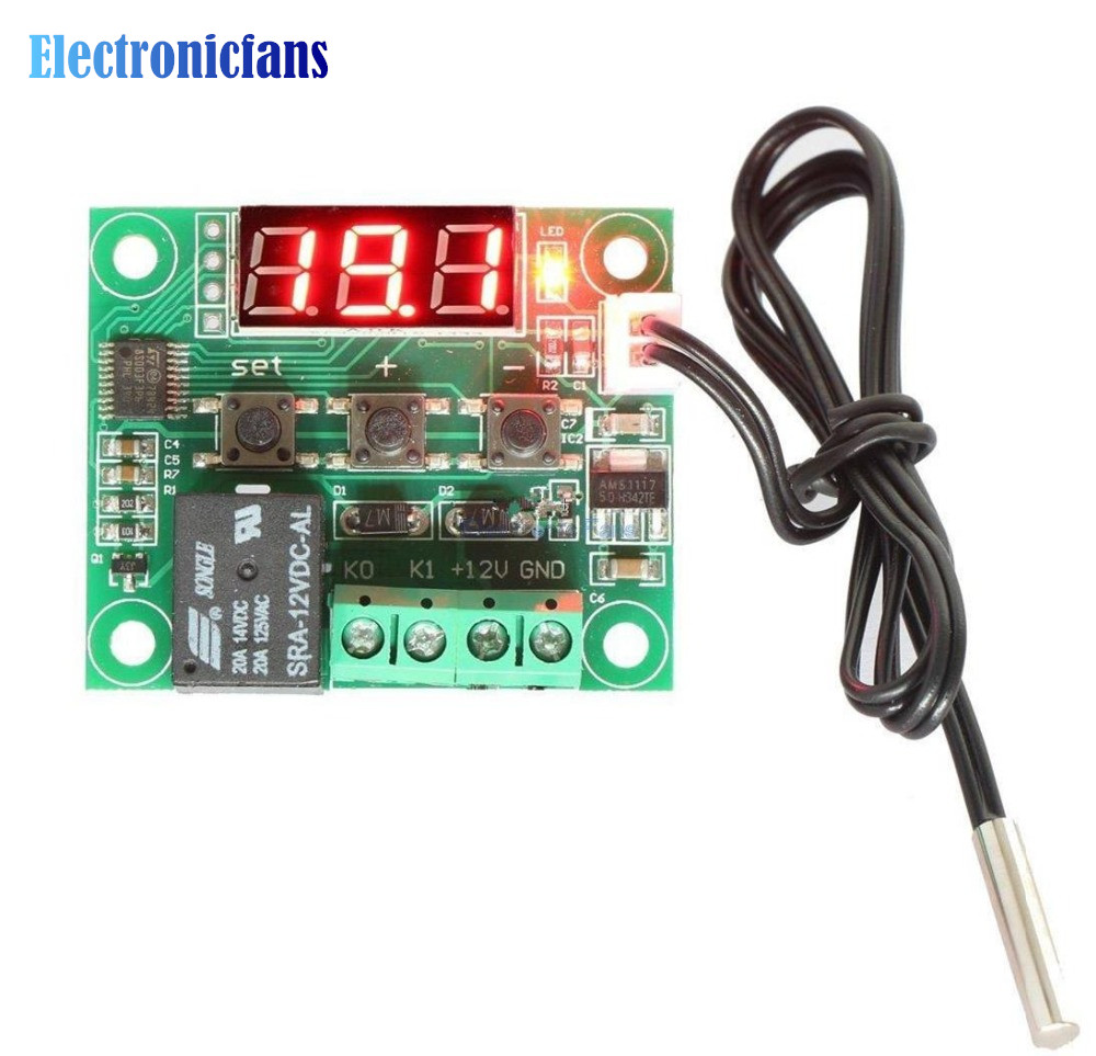 цифровой термостат w1209