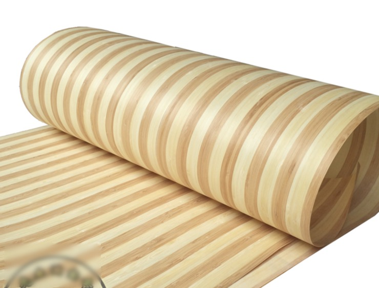 Фотография 62x250cm. thickness:0.2mm. Lamp Decorations VeneerNatural zebra bamboo skin bark