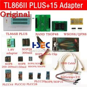 Image 1 - Nowy oryginalny XGecu TL866ii Plus usb programista isp NAND TSOP48 gniazdo adaptera minipro TL866CS TL866A TL866 uniwersalny programator