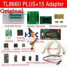 Новый оригинальный XGecu TL866ii Plus usb isp программатор NAND TSOP48 адаптер розетка minipro TL866CS TL866A TL866 универсальный программатор