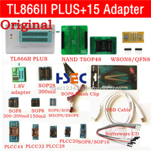 חדש מקורי XGecu TL866ii בתוספת usb isp מתכנת NAND TSOP48 מתאם שקע minipro TL866CS TL866A TL866 אוניברסלי מתכנת