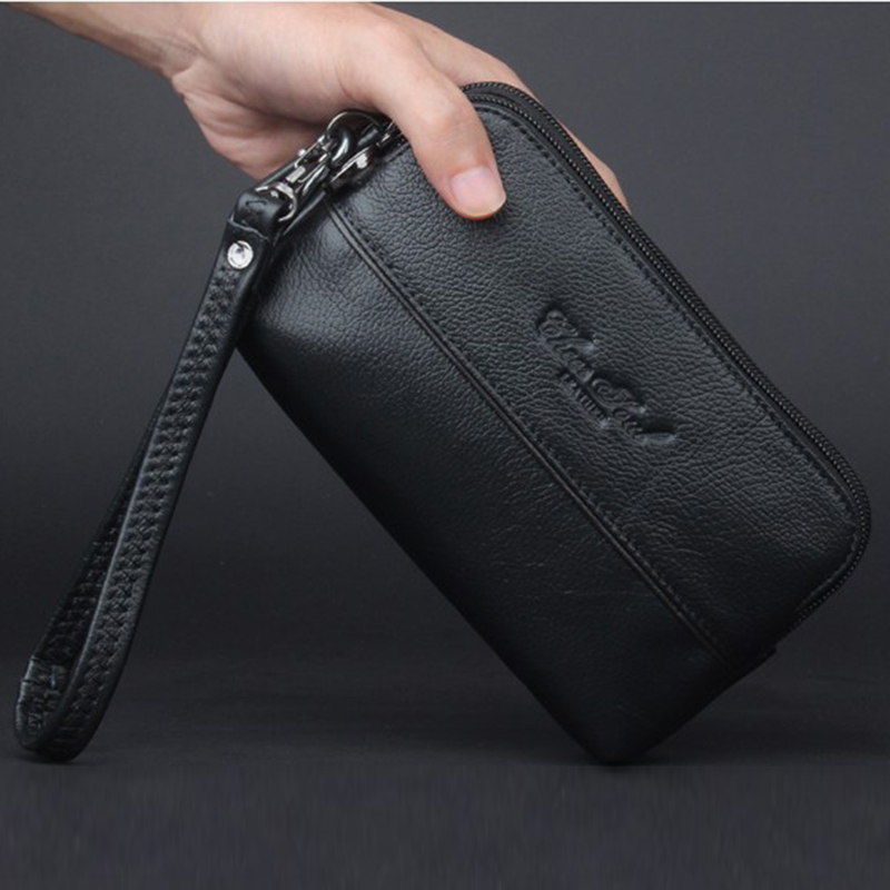 Genuine Leather Men Small Hand Handy Bag Waist Pack Hip Bum Hook Purse Skin Belt Mobile Cell Phone Case Male Wallet Clutch Bags hot sale men canvas waist packs army green solid phone bag hip belt portable man wallet purse case pouch waist bags 2017