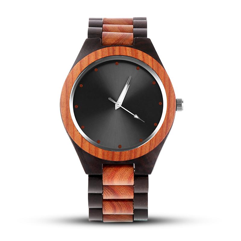 Bamboo Men Unique Creative Wooden Watches 7