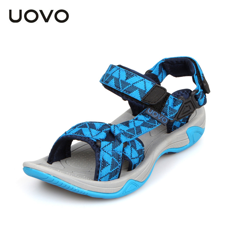 UOVO Brand  Summer Baby Sandals Children'S Shoes Kids High Quality Boys Sandals Wedge Casual Sport Sandals Beach Canvas Shoes