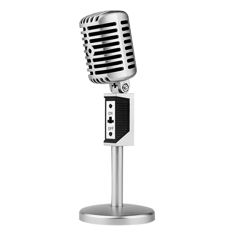 Online buy wholesale retro microphone from china retro for 180 degree salon