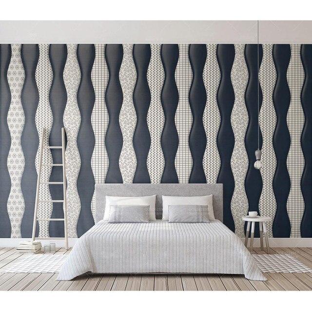 Living Room Bedroom Wall Papers Modern Geometric Photo Wallpaper