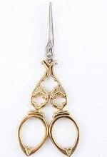 زكا الرجعية الحرفية الخياطة الكلاسيكية scissor مقص الحرف اليدوية DIY بها بنفسك عبر غرزة أداة الأوروبية العتيقة خياط