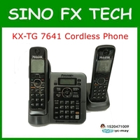 Original PHONE KX TG7641T DIGITAL CORDLESS ANSWERIN SYSTEM 98 New For Panasonic