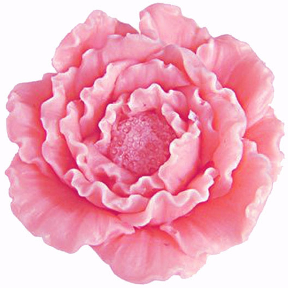 3D Flower Peony Candle Moulds Sugarcraft Cake Decorating Fondant Chocolate Mold Cupcake Kitchen Baking Tools Silicone Soap Molds