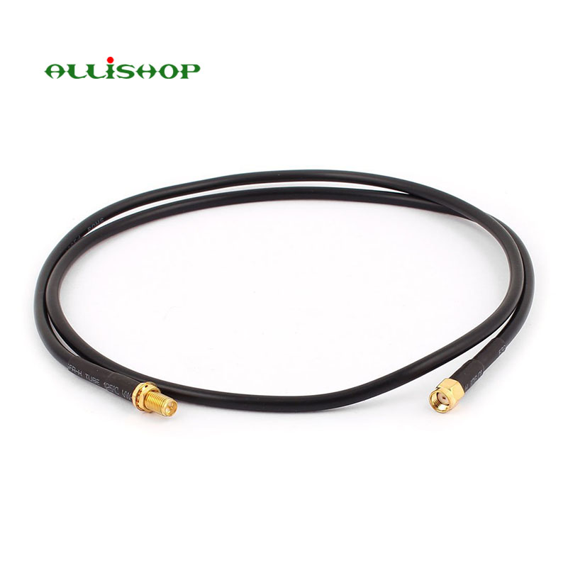 3 Meters Antenna Extension Cable RP-SMA Male to Female connector low loss LMR200 Pigtail Cable assembly for WLAN environment allishop 15m sma male to rp sma female rg316d double shielded cable for wifi antenna rf extension ultra low loss