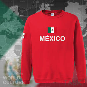 Image 4 - Mexico team 2017 hoodies men sweatshirt sweat new streetwear clothing jersey sporting tracksuit nation Mexican fleece MX MEX