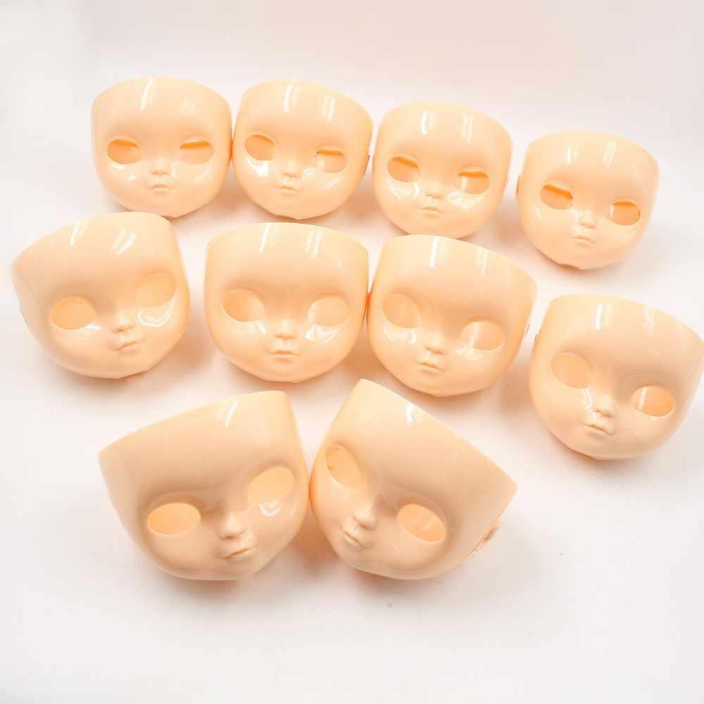 Placa de Cara de boneca Icy Boneca rosto adequado para mudar a boneca, prática, Sem maquiagem