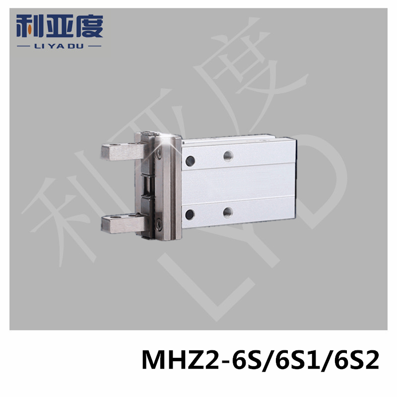 MHZ2-6S MHZ2-6S1 MHZ2-6S2 pneumatic finger cylinder parallel open Single action (open) air claw mhz2 10d parallel style air gripper cylinder double acting sns pneumatic parts finger air claw