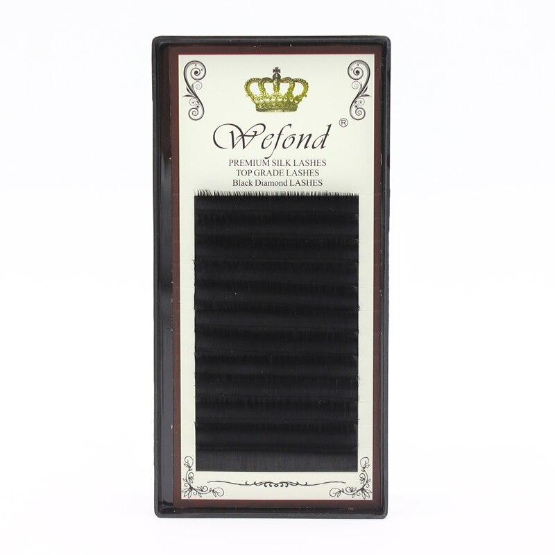 0.07mm J B C D Curl Full Size Imitation Mink Hair False Eyelash Premium Silk Lashes 8-14 ...