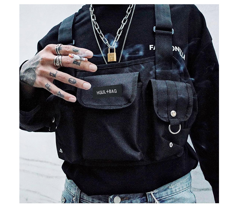 HTB1DH8janjxK1Rjy0Fnq6yBaFXae - Men Chest Rig Hip Hop Streetwear Unisex Cool Functional Tactical Chest Bag Cross Waist Bag Nylon Punck Style Backpack D1