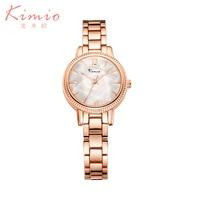 Kimio Ladies Watch Women Watches Luxury Gorgeous Quartz Wristwatch Ladies Watches From Top Luxury Brands Waterproof
