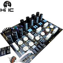Tubo de válvula HiFi de alta gama, preamplificador, placa estéreo, preamplificadora, circuito KONDO AUDIONOTE M77