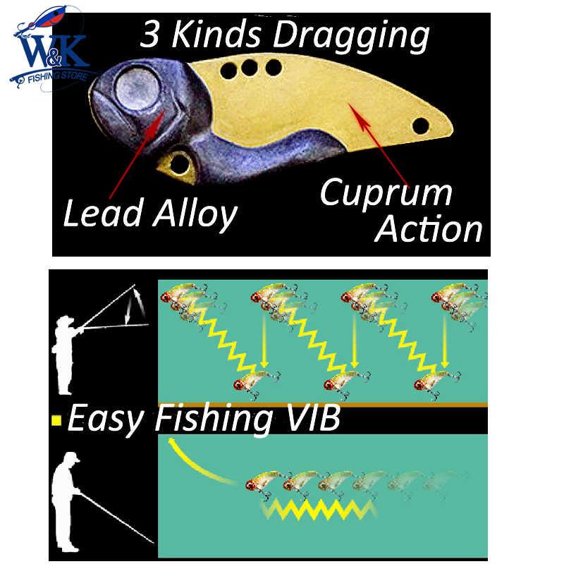 Hipro Harter Köder 3 arten Gewicht VIB Löffel Köder Action 21g 10g 7,5g Einfache Angeln Lockt für bass Walleye Snook Tipps Locken