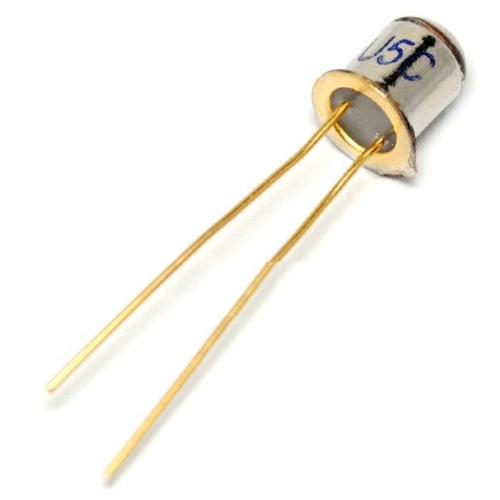 10 Pcs 3DU5C Metal Encapsulated Silicon Phototransistor Transistor