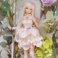 Fortune Days 1/4 MMGIRL BJD DOLL joint body with makeup reborn girls eye New Cute Lolita Princess Set height Blyth dolls toy